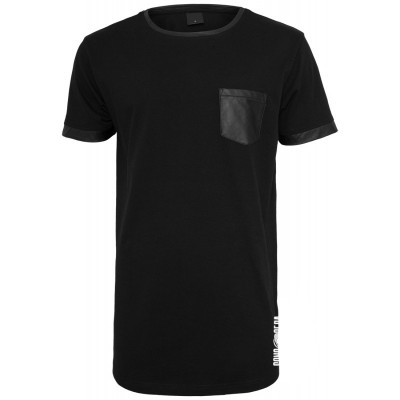 Sons of Ra - Long Shaped Leather Imitation T-Shirt