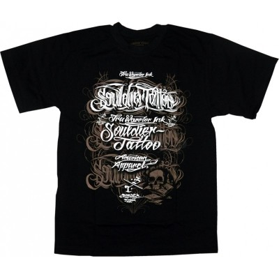 Souldier Tattoo Clothing T-Shirt Letters (SALE)