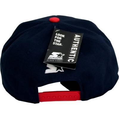 Starter - Snapback Cap FADED navy / red