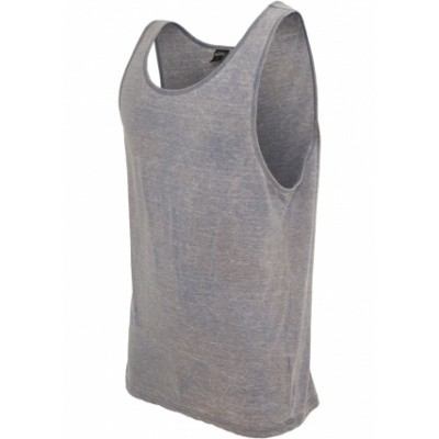 Urban Classics - Big Tank Jersey Burnout denimblue