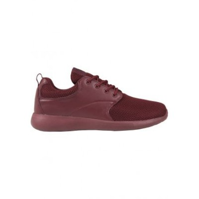 Urban Classics - Light Runner Shoe burgundy/burgundy
