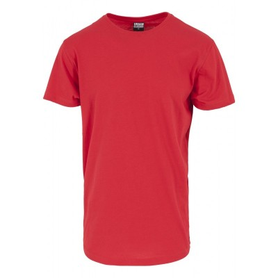 Urban Classics - Shaped Long Tee fire red
