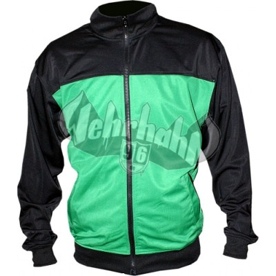 Urban Classics Sports Jacket Block black/green