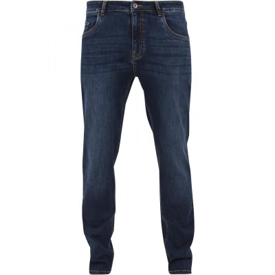 Urban Classics - Stretch Denim Pants darkblue
