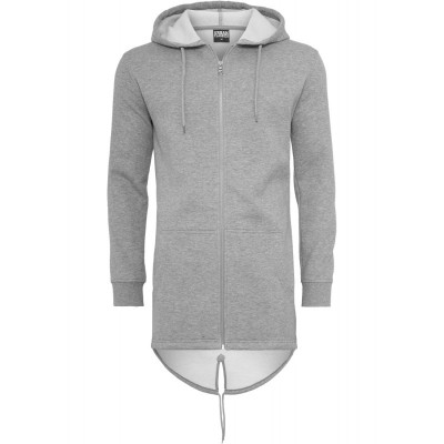 Urban Classics - Sweat Parka grau