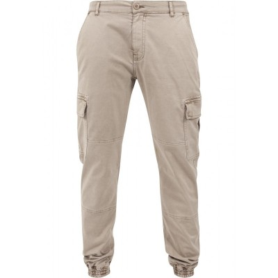 Urban Classics - Washed Cargo Twill Jogging Pants sand