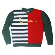 Karl Kani Signature Block Sweater navy/red/white/green