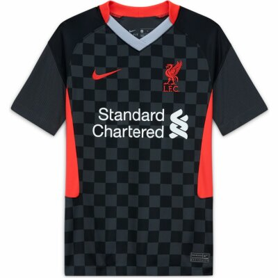 Nike Liverpool FC Kinder Ausweichtrikot 2020/21 gym red/white L-147-158cm