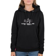 Alpha Industries Damen New Basic Hoodie Wmn Foil Print...