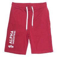 Alpha Industries Herren Short Basic Short Al rbf red