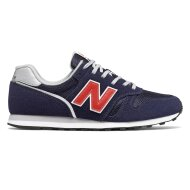 New Balance Herren Sneaker 373v2 navy/red