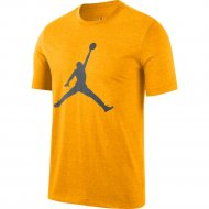 Nike Jordan Jumpman Logo T-Shirt university gold/iron grey