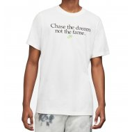 Nike Herren T-Shirt Chase the Dream white