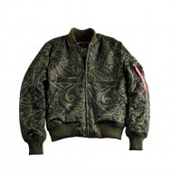 Alpha Industries Bomberjacke MA-1 VF Tonga dark green