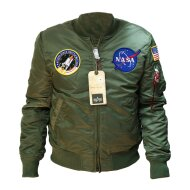 Alpha Industries Damen Bomberjacke MA-1 VF NASA WMN...