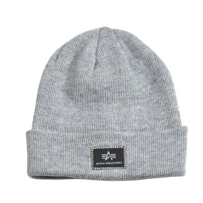 Alpha Industries Beanie X-Fit grey heather