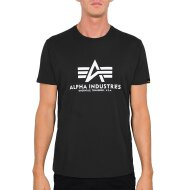 Alpha Industries T-Shirt Basic Logo black