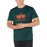 Alpha Industries T-Shirt Basic Logo dark petrol