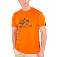 Alpha Industries T-Shirt Basic flame orange