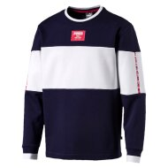 PUMA Crewneck Sweater Rebel Block FL navy/white