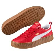 PUMA Damen Schuh Smash Platform VT ribbon red