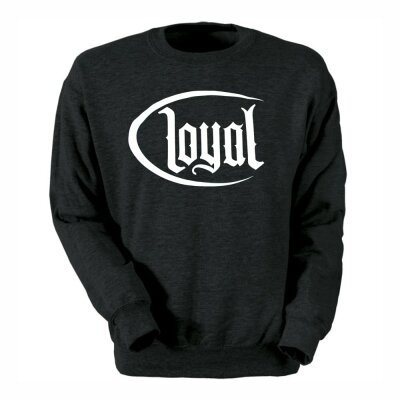 Kontra K Sweater Loyal Circle black/white