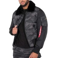 Alpha Industries Daunenjacke Injector III Puffer black camo