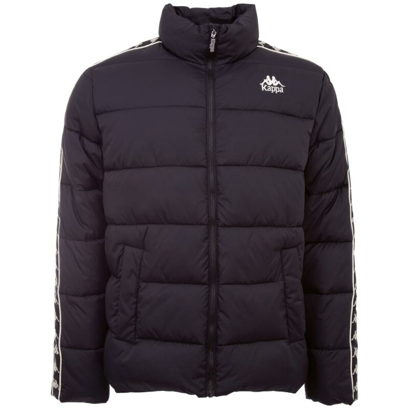 Kappa Authentic Puffer Winterjacke Dilan Black 99 90