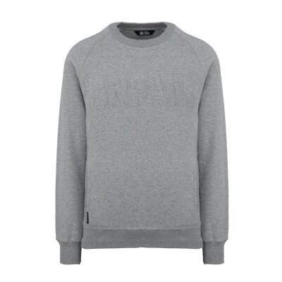 Unfair Athletics Sweatshirt One Tone grey melange