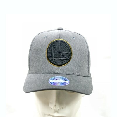 Mitchell & Ness Curved Snapback 110 Washed Denim Golden State Warriors