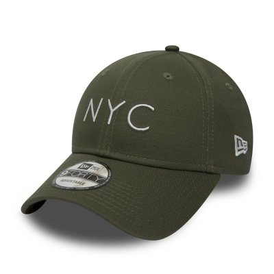 New Era 9FORTY Cap NYC Essential Olive