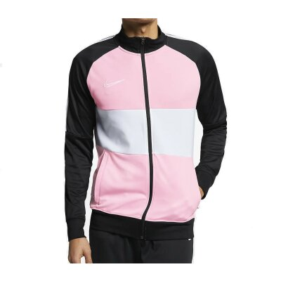 Nike Dri-FIT Academy Trainingsjacke Schwarz/Medium Soft Pink/Weiß/Weiß