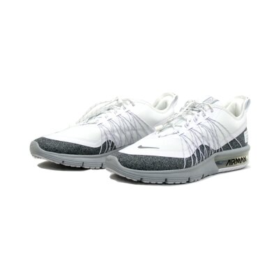 f0633c1d427 Nike Damen Schuh Air Max Sequent 4 Utility white reflect silver-wolf grey  ...