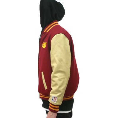 Mitchell & Ness NBA Wool Leather Varsity College Jacket Cleveland Cavaliers
