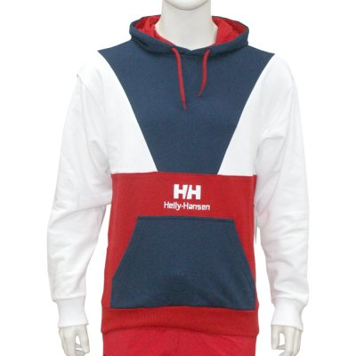 Helly Hansen Urban Retro Hoodie blue/white/red