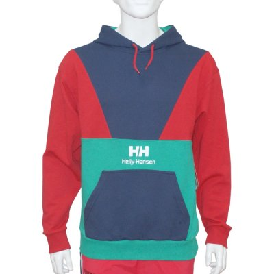 Helly Hansen Urban Retro Hoodie blue/red/green