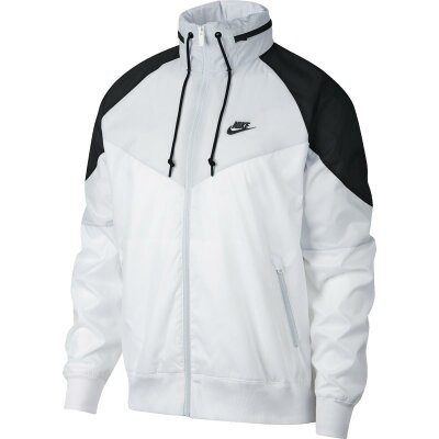 fbe66179e88e77 Nike Sportswear Windbreaker HD white/wolf grey/black