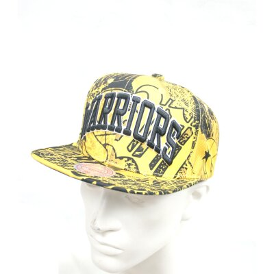 new styles 83f1a f8bc8 Mitchell   Ness NBA Snapback Golden State Warriors Process ...