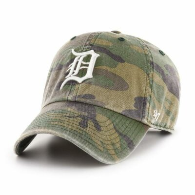 47 Clean Up Cap Detroit Tigers Camo MLB